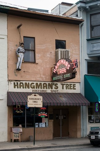 Hangmans Tree Historic Spot Placerville, CA