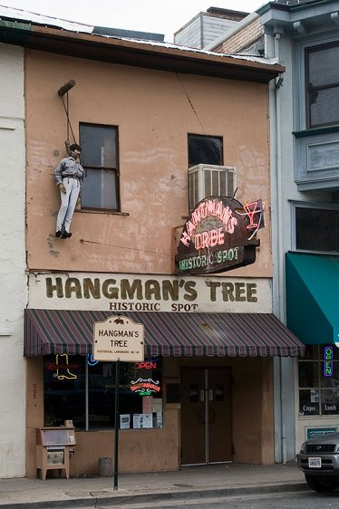 Hangmans Tree Historic Spot Placerville, CA