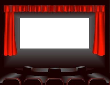 Movie Theater Screen Curtain Indoor-movie-theater-screen- ...