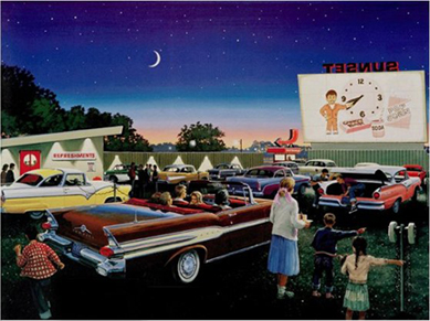 Old-Time-Drive-In-Theater