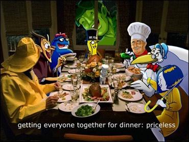 mascot_dinner_gathering_priceless