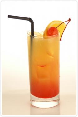 ...Sunrise) - очень известный алкогольный коктейль на основе текилы.