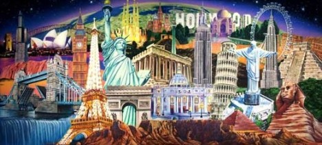 world-landmarks-collage