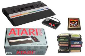 Atari 2600 VCS Junior ~ 1986