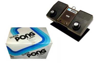 Atari Super Pong ~ 1976