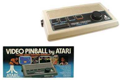 Atari Video Pinball ~ 1977