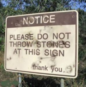 do-not-throw-stones-sign