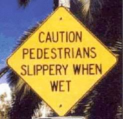 pedestrian-slippery-sign