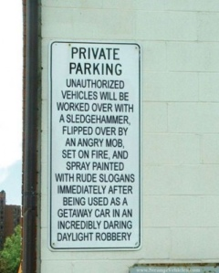 private-parking-sign