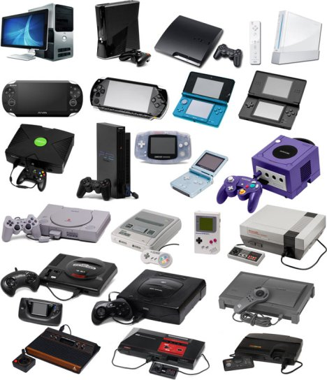 video-game-console-collage