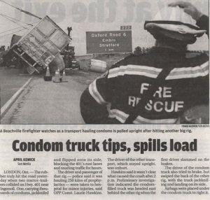 condom-truck-spill