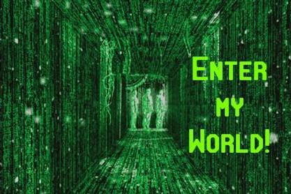 enter-my-world-green-matrix-logo