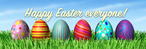 Happy Easter Everyone banner
