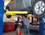 oil-change-car-on-rack