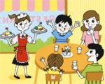 restaurant-dining-family-clipart