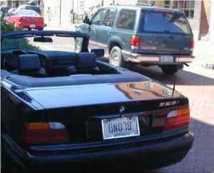 license-plate-BLONDupsidedown