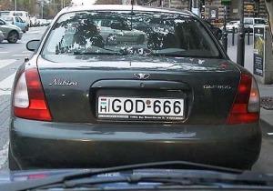 license-plate-GOD666