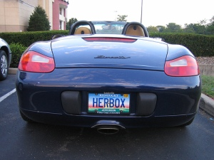 Amusingly Clever License Plates Reflections Of Pop
