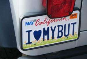license-plate-ILUVMYBUT