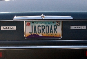 license-plate-JAGROAR