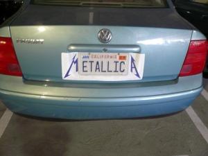 license-plate-METALLICA