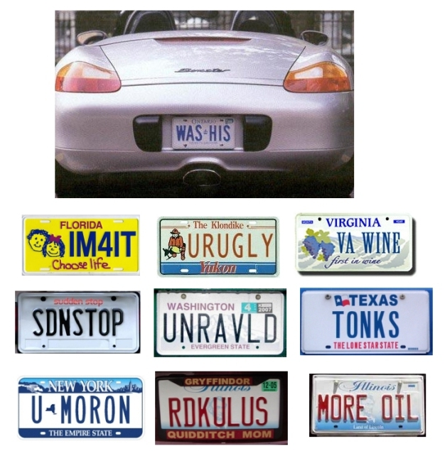 Amusingly Clever License Plates | Reflections Of Pop Culture U0026 Lifeu0027s  Challenges