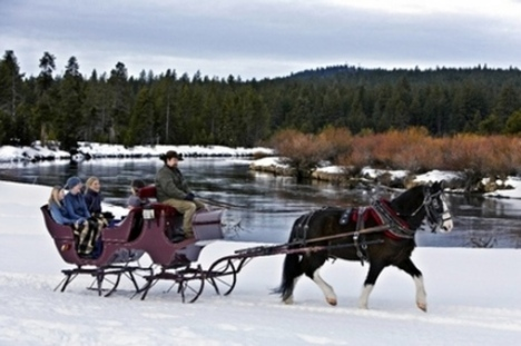 sleigh-ride-over-river-woods-snow