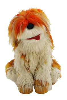 Barkley the-muppet dog from Sesame Street