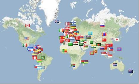 Cool new free flag counter for your blog or website reflections of check out the flag counter on this site youre on right now in the lower right hand column sidebar of this page theres actually two of them one for us gumiabroncs Images