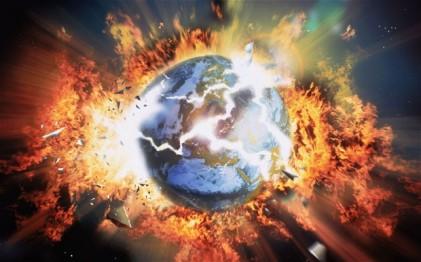apocalypse earth exploding