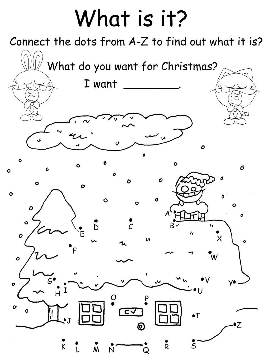 Christmas Themed Mazes, Coloring Pages & Word Search Fun ...