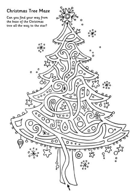 Christmas Maze - Christmas Tree
