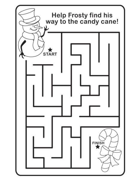Christmas Maze - Frosty to Candy Cane