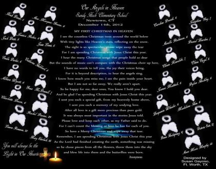 Sandy Hook - 1st Christmas in Heaven Angels