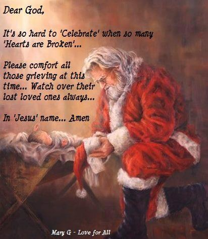 Sandy Hook - Dear God Letter Santa