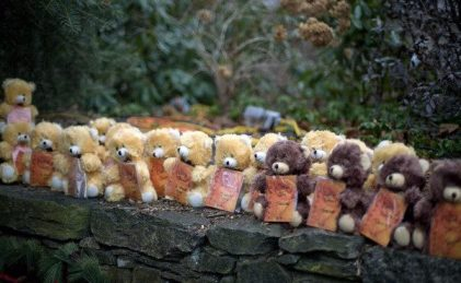 Sandy Hook - Teddy Bear Wall