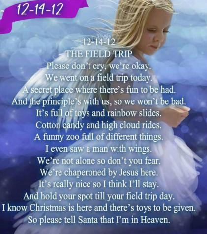 Sandy Hook - The Field Trip Poem