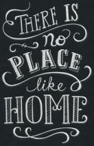 there-is-no-place-like-home-sign