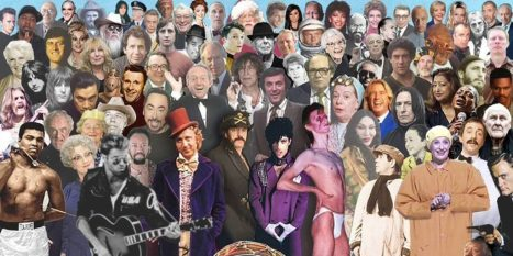 2016 collage of celebrity deaths