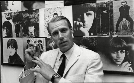 Record producer George Martin  . REXSCANPIX.